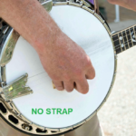 "🎸Banjo Product Review: The ""No Strap"" Banjo Strap"
